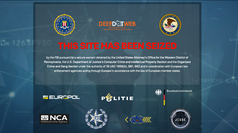 US-Justiz schliesst Darknet-Webseite und verhaftet die Betreiber