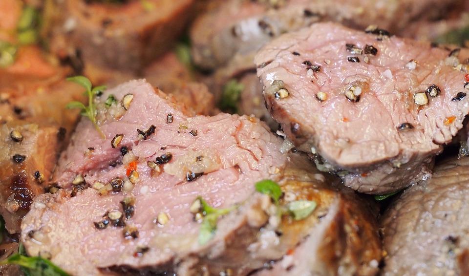 Roastbeef mit Gorgonzolabutter